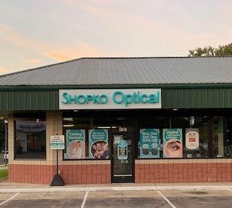 Marshall MN Shopko Optical storefront