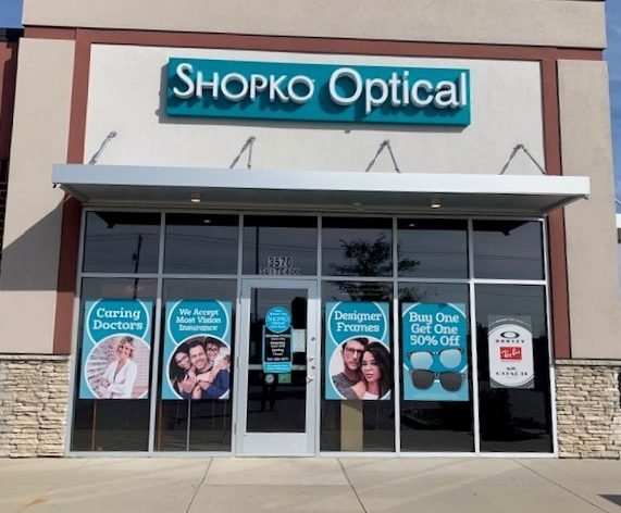 Mason City Shopko Optical store front