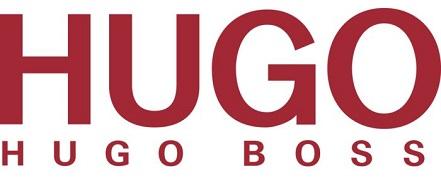 hugo boss glasses logo