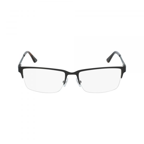 Black Hackett London HEK1187 Eyeglasses - Semi-Rimless
