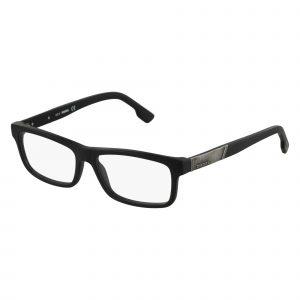 Black Diesel DL5090 Eyeglasses - Metal