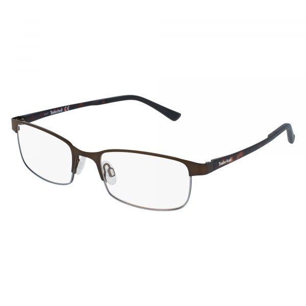 Brown Timberland TB1348 Eyeglasses - Metal
