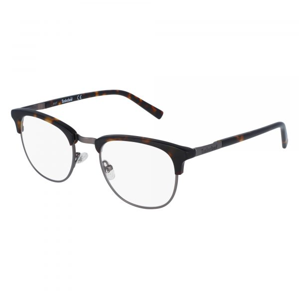Brown Timberland TB1582 Eyeglasses - Metal