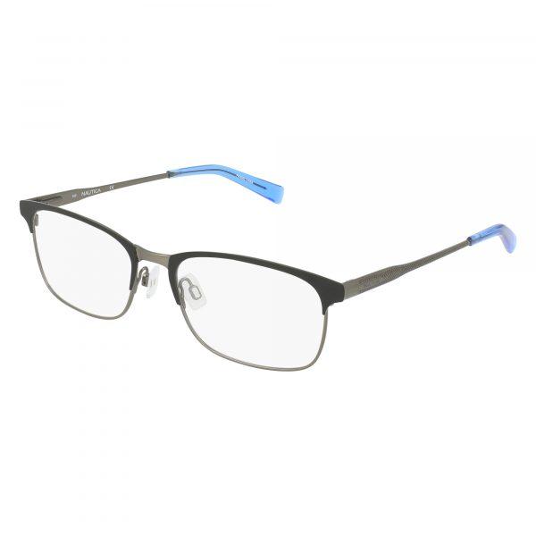 Black Nautica N7288 Eyeglasses - Metal