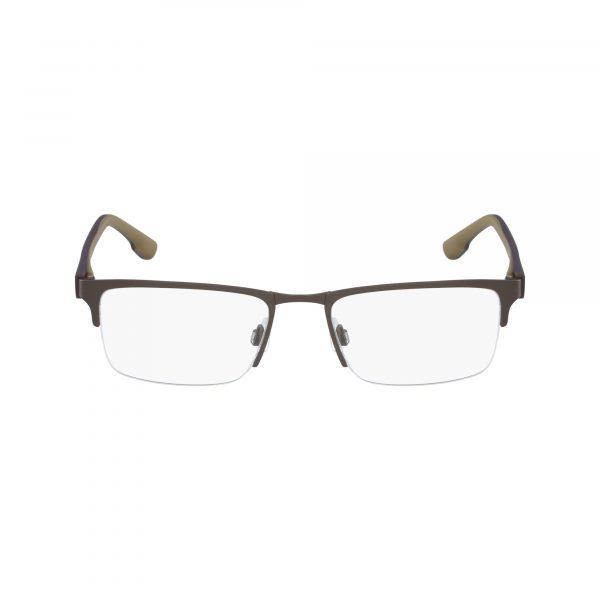 Brown Flexon E1040 Eyeglasses - Semi-Rimless