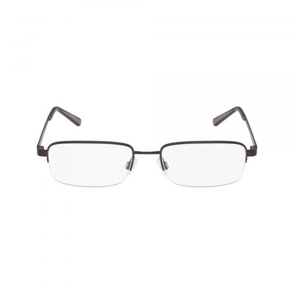 Brown Flexon CLAY 600 Eyeglasses - Plastic