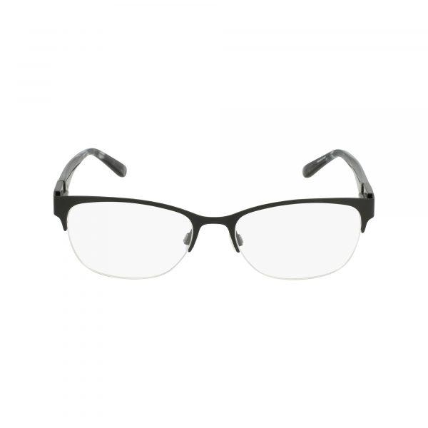 Black Bebe BB5140 Eyeglasses - Semi-Rimless