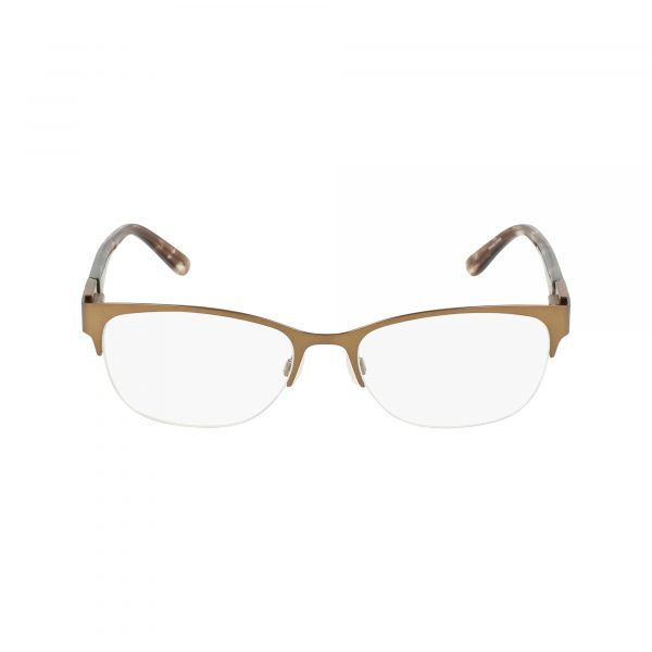 Brown Bebe BB5140 Eyeglasses - Semi-Rimless