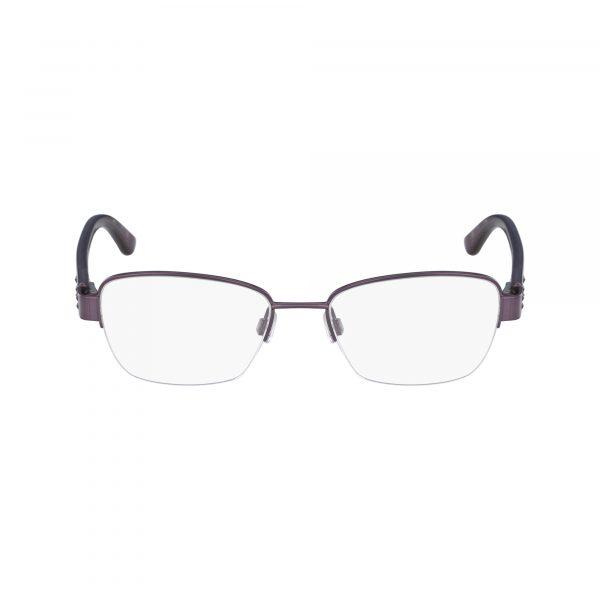 Purple Bebe BB5127 Eyeglasses - Semi-Rimless