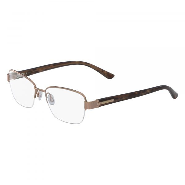 Gold Bebe BB5127 Eyeglasses - Semi-Rimless