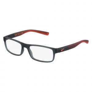 Grey Nike 7090 Eyeglasses - Plastic