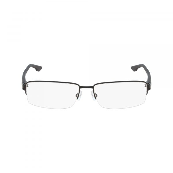 Black Columbia C3007 Eyeglasses - Semi-Rimless