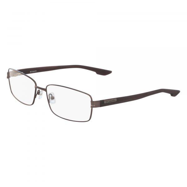 Black Columbia C3008 Eyeglasses - Semi-Rimless