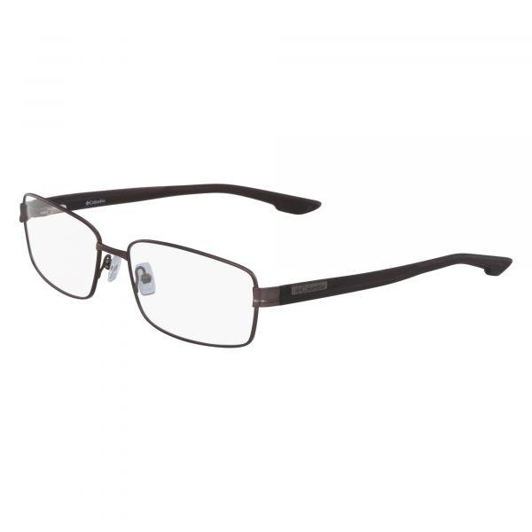 Brown Columbia C3008 Eyeglasses - Semi-Rimless
