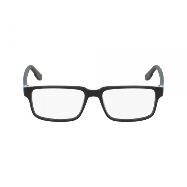 Black Columbia C8000 Eyeglasses - Semi-Rimless