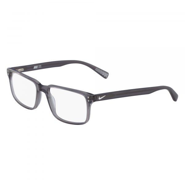 Grey Nike 7240 Eyeglasses - Plastic