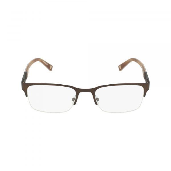 Brown Marchon NYC - CULLEN Eyeglasses - Semi-Rimless