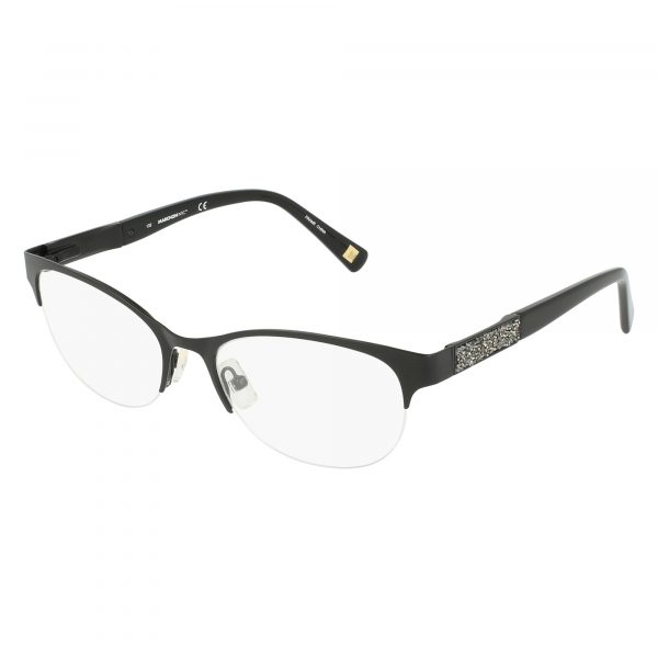 Black Marchon NYC - KIMPTON M4001 Eyeglasses - Semi-Rimless
