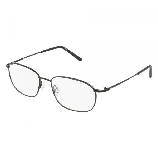 Black Nike 8181 Eyeglasses - Metal