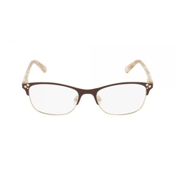 Brown Nine West NW1082 Eyeglasses - Metal