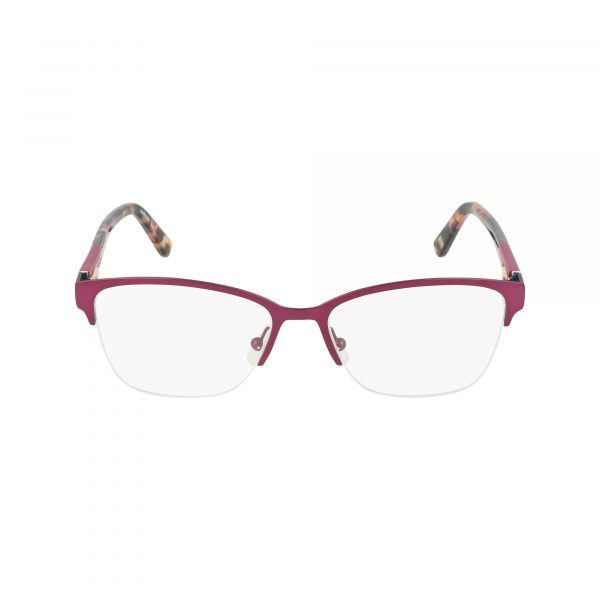 Purple Marchon NYC - M4002 Eyeglasses - Semi-Rimless