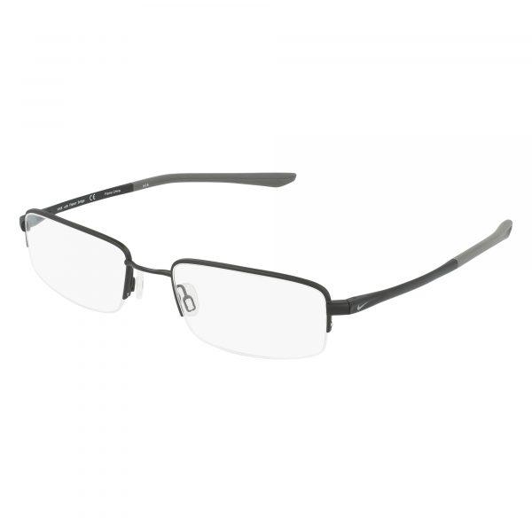 Black Nike 4292 Eyeglasses - Semi-Rimless