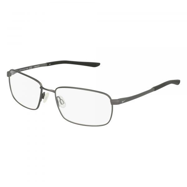 Grey Nike 4294 Eyeglasses - Semi-Rimless