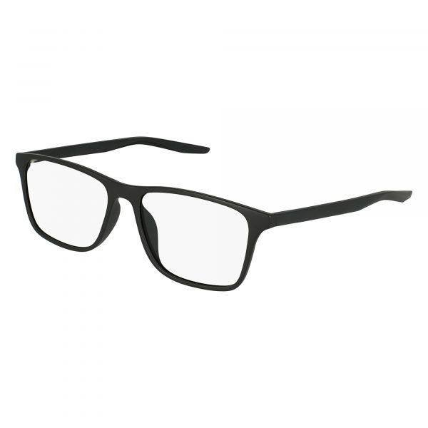 Black Nike 7125 Eyeglasses - Plastic