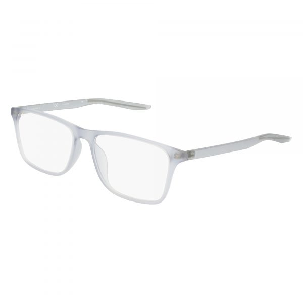 Grey Nike 7125 Eyeglasses - Plastic