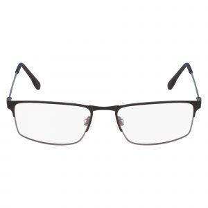 Black Flexon E1075 Eyeglasses - Metal