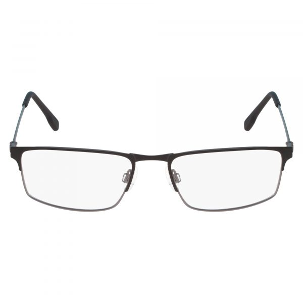 Black Flexon E1075 Eyeglasses - Metal