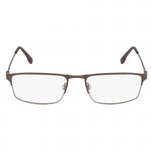 Brown Flexon E1075 Eyeglasses - Metal