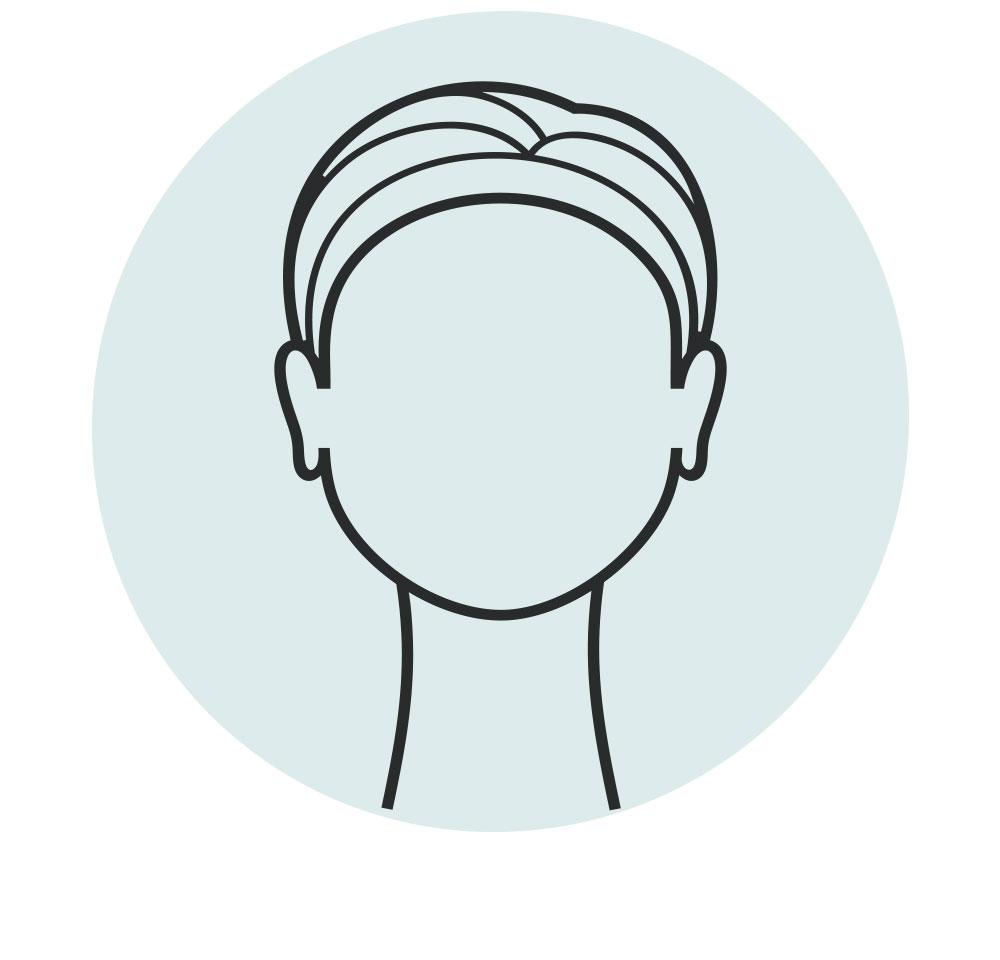 circle face icon