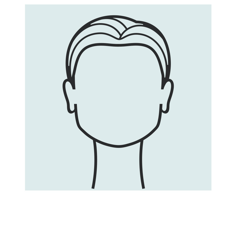 square shaped face icon