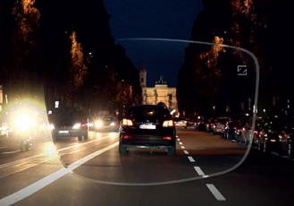 drive safe lens view