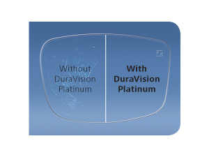 duravision lens with and without