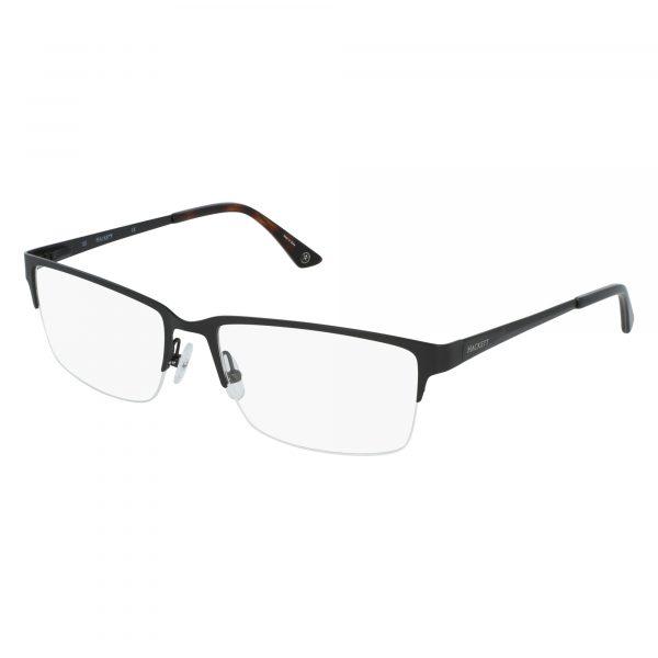 Black Hackett London HEK1187 Eyeglasses - Side View