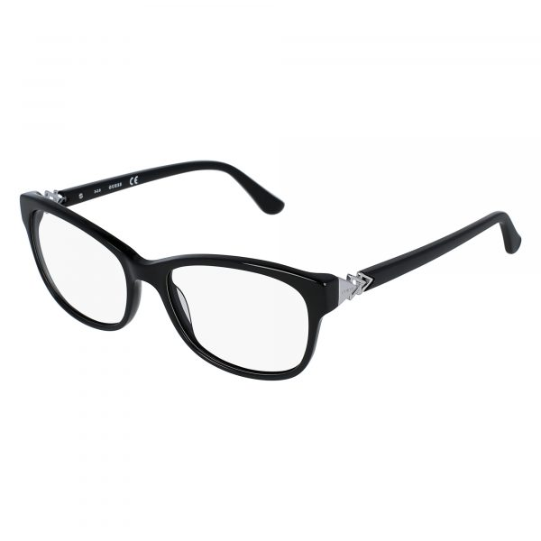 Black Guess 2696 Eyeglasses - Side View