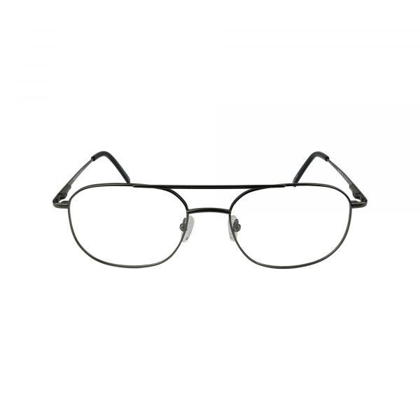 Benjamin Gunmetal Glasses - Front View