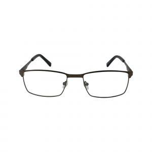 204 Gunmetal Glasses - Front View