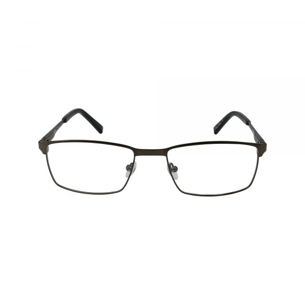 204 Gunmetal Glasses - Front View