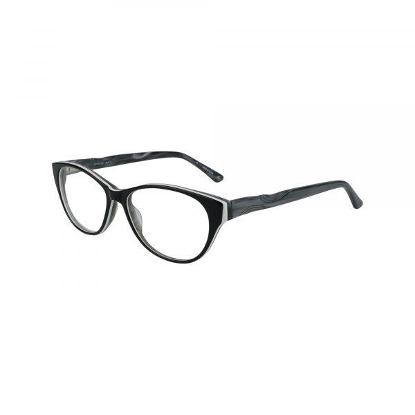 Ravennati Black Glasses - Side View
