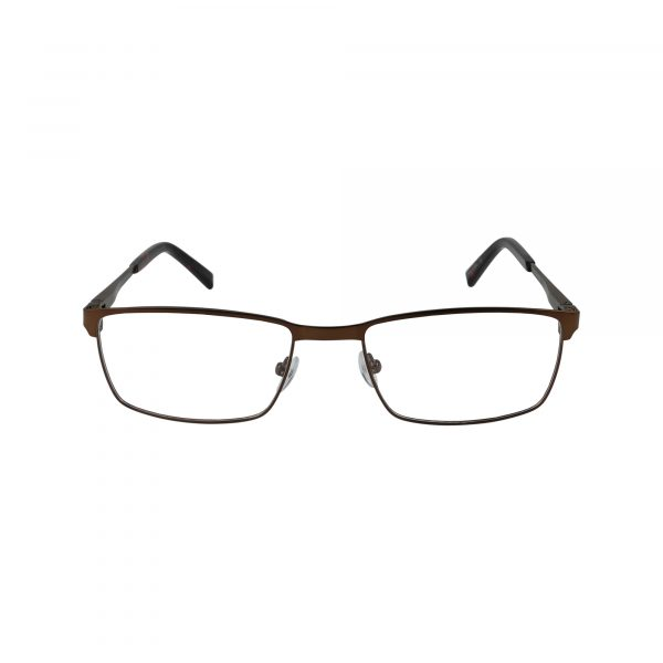 204 Brown Glasses - Front View