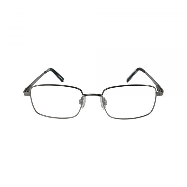Jude Gunmetal Glasses - Front View