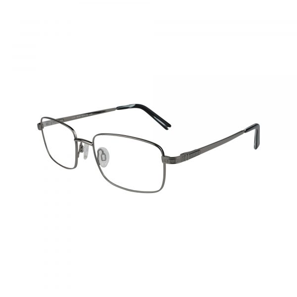 Jude Gunmetal Glasses - Side View