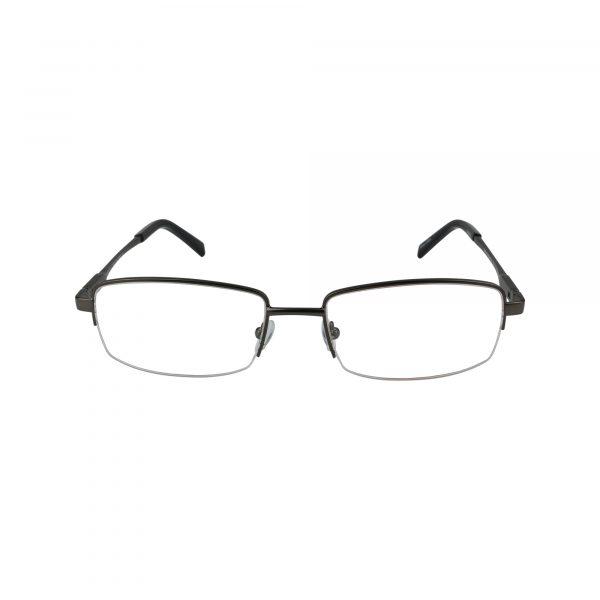 201 Gunmetal Glasses - Front View