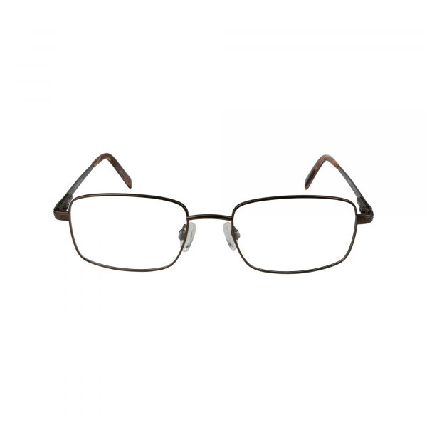 Jude Brown Glasses - Front View