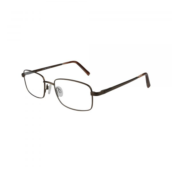 Jude Brown Glasses - Side View