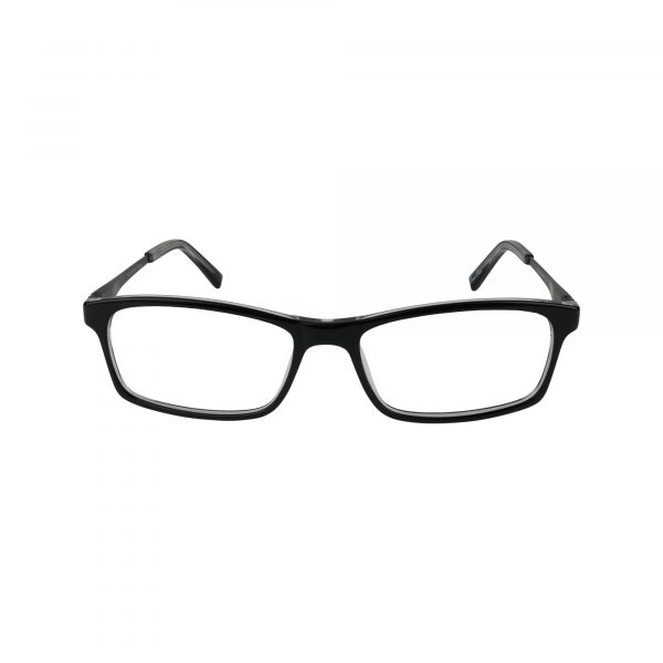 205 Black Glasses - Front View