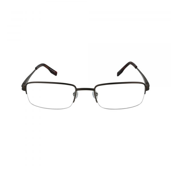 105 Brown Glasses - Front View